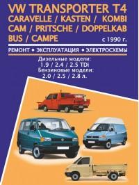 Руководство по ремонту VW Transporter T4 / Caravelle